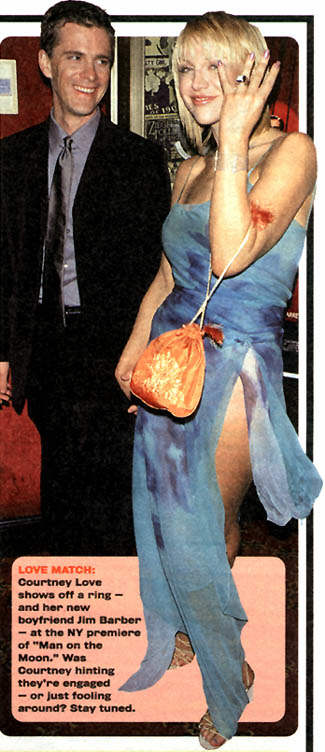 Barber Love : Courtney Love with boyfriend, Jim Barber~*~